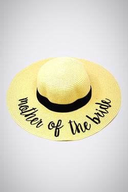 Mother of the Bride Stay-Put Straw Hat