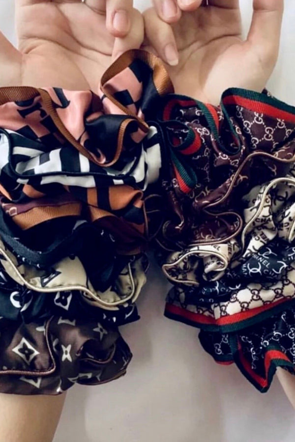 Designer Inspired Scrunchies