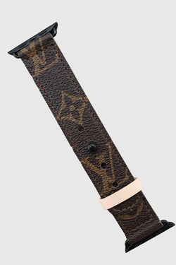 Up-Cycled Louis Vuitton Apple Watch Band - Embellish Your Life