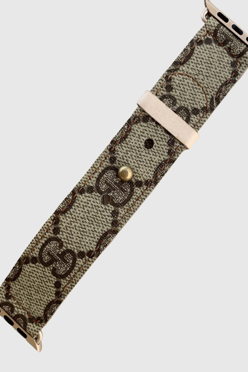 Up-Cycled Gucci Apple Watch Band - Embellish Your Life