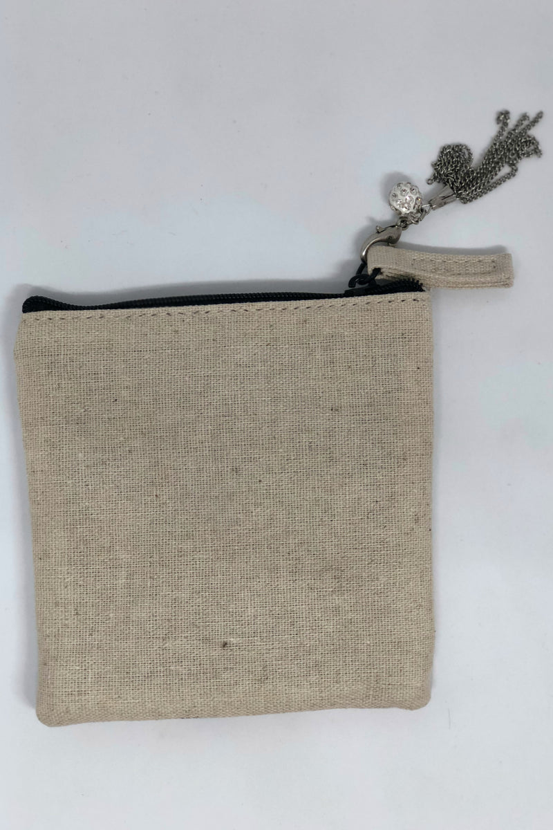 Moon Zippered Pouch