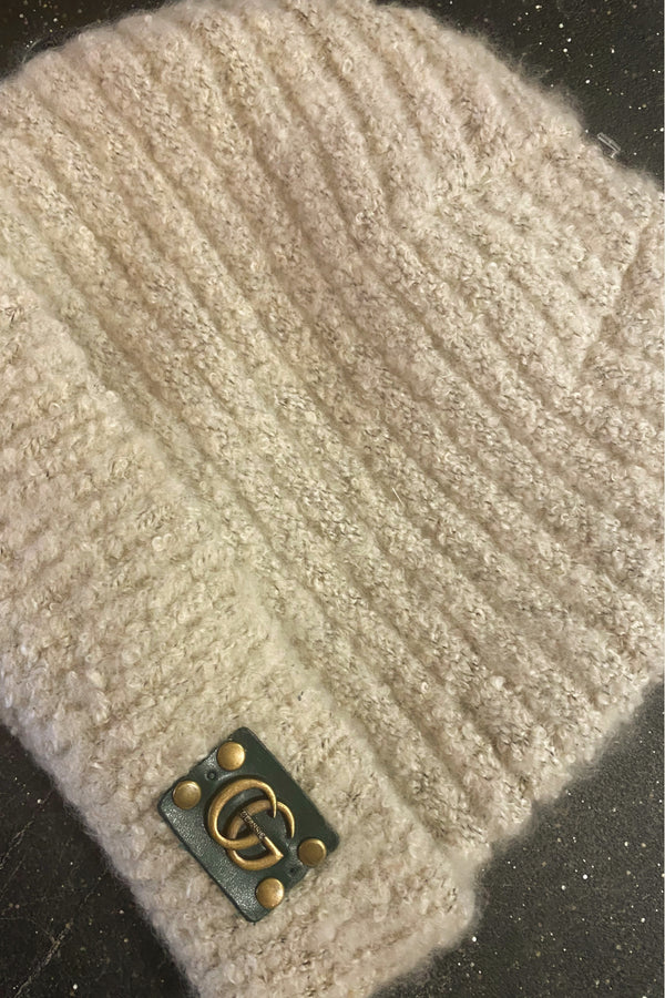 Gucci Inspired Up-Cycled Beanie