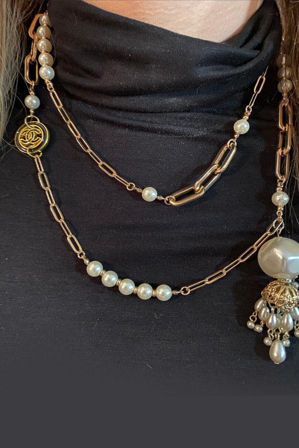 Up-Cycled Chanel Vintage Necklace