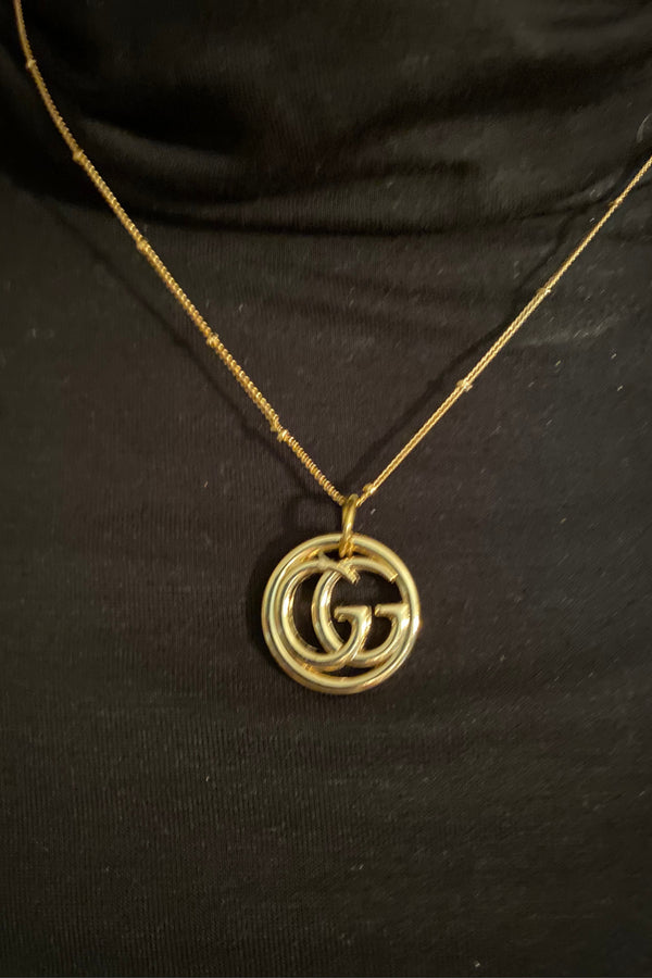 Gucci Up-Cycled Pendant Necklace