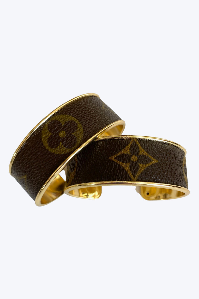 Louis Vuitton Up-Cycled Channel Cuff Bracelet - Embellish Your Life