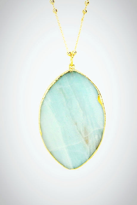 Mint Julep Marquis Necklace