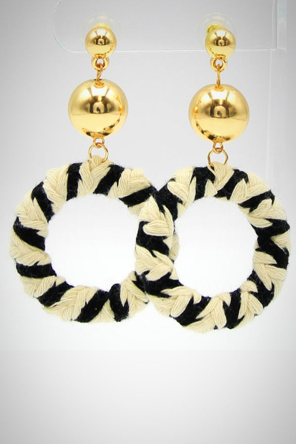 Nautical Ring Earrings