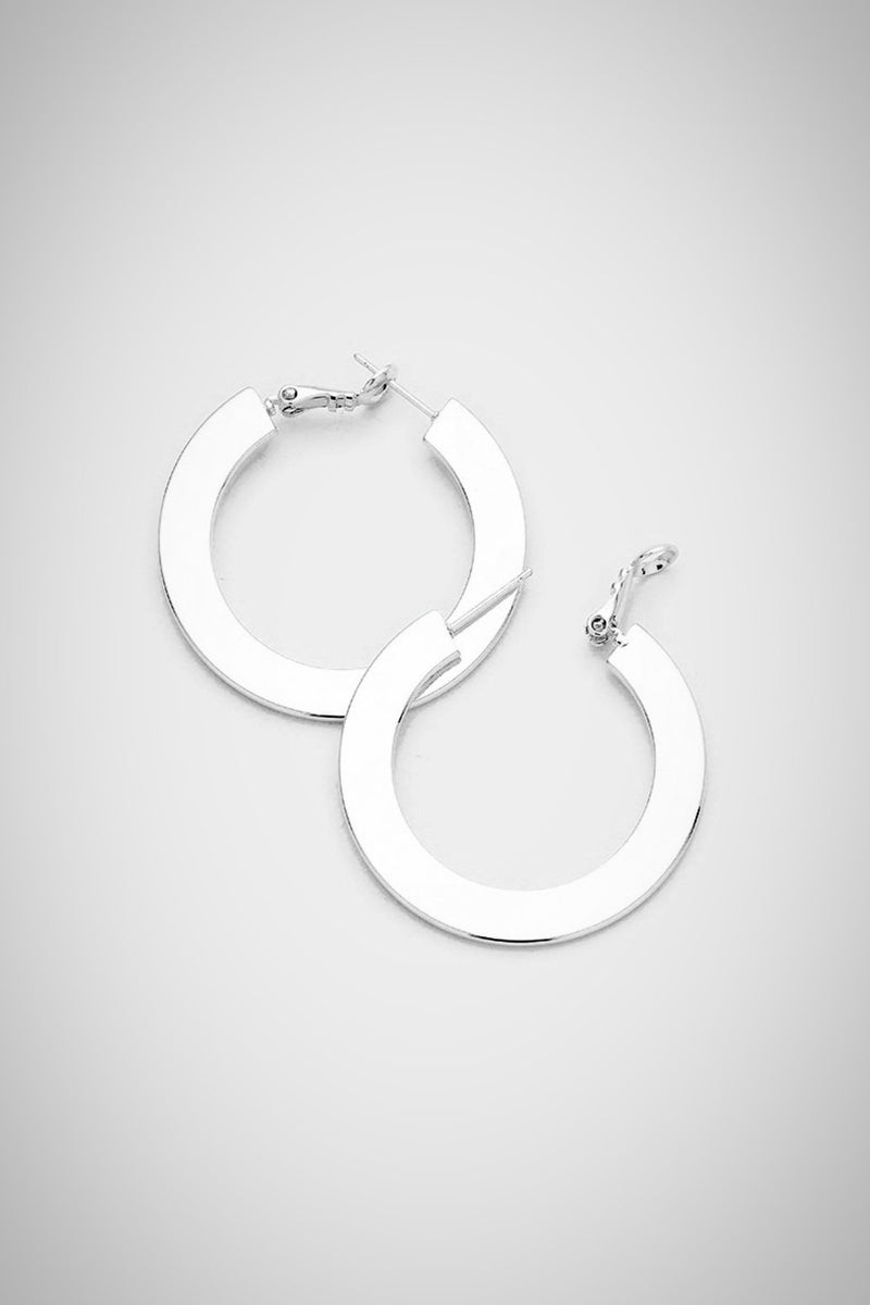 Modern Life Silver Earrings - Embellish Your Life