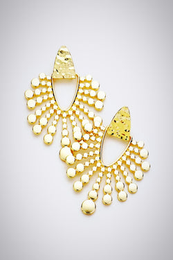 Sun Rays Earrings - Embellish Your Life