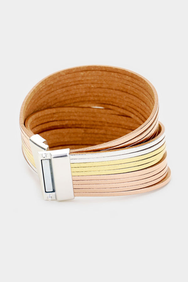 Tri-Color Magnetic Bracelet - Embellish Your Life