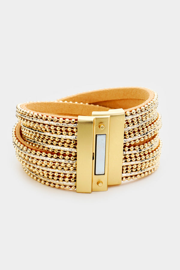 Criss-Cross Magnetic Bracelet
