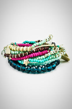 Teal It Up Bacelet - Embellish Your Life