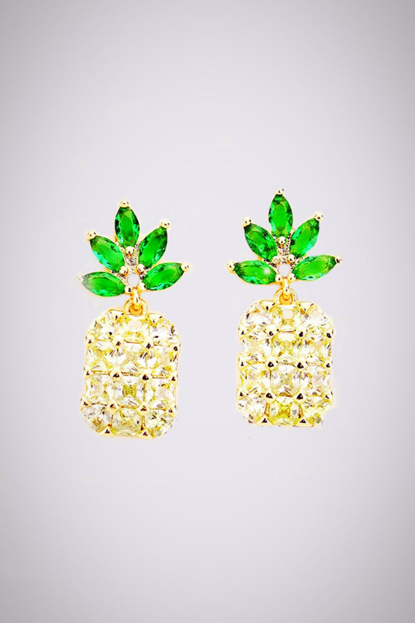Pineapple Glitz Earrings