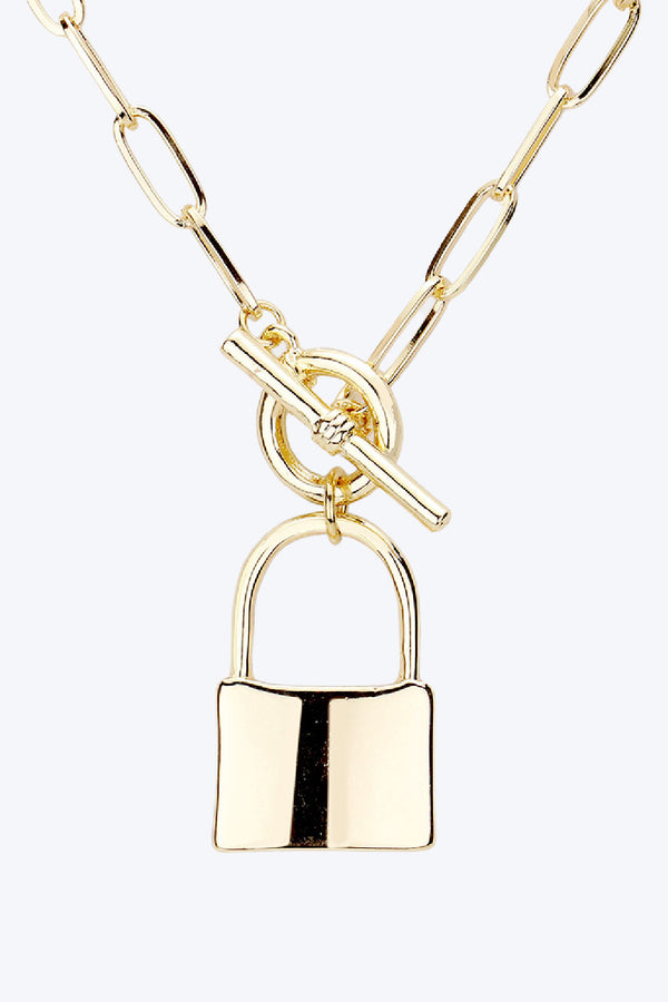 Toggle Lock Necklace - Embellish Your Life