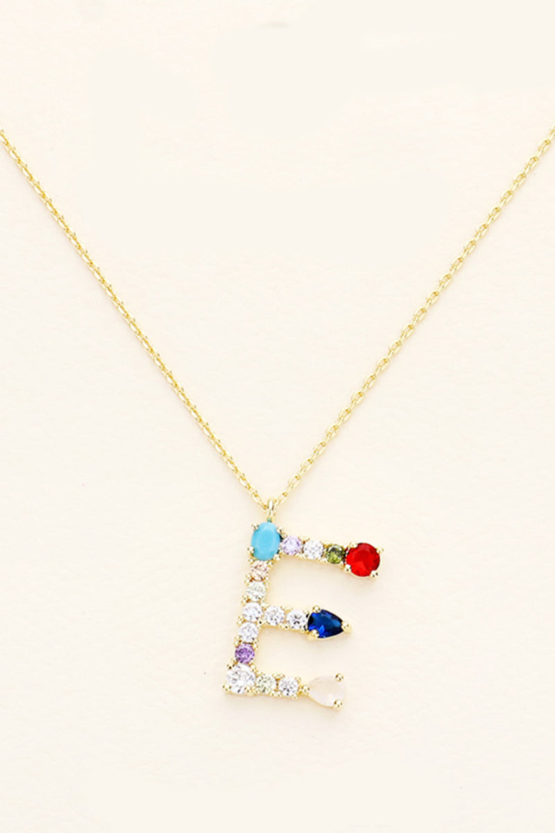 Bright Initial Necklace - Embellish Your Life