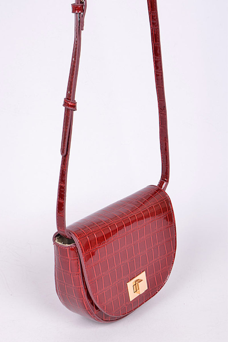 Alligator Crossbody Bag