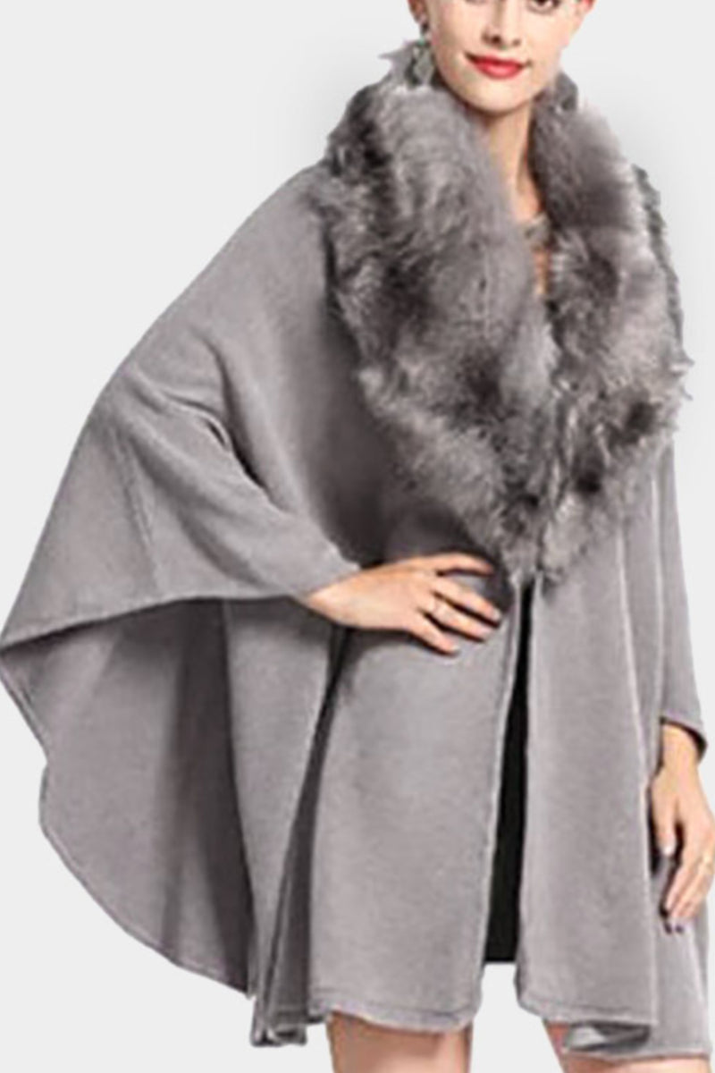 Fur Shawl Wrap - Embellish Your Life