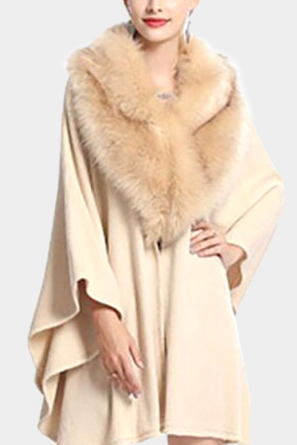 Fur Shawl Wrap