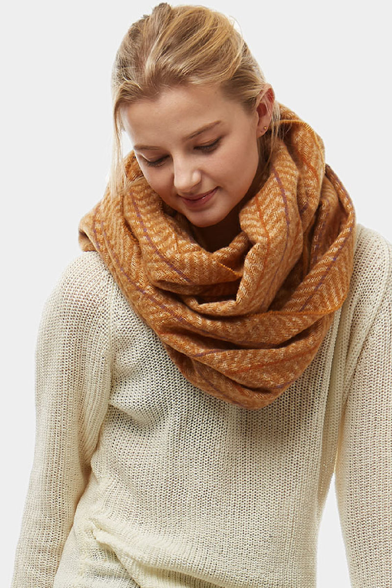 Herringbone Infinity Scarf - Embellish Your Life