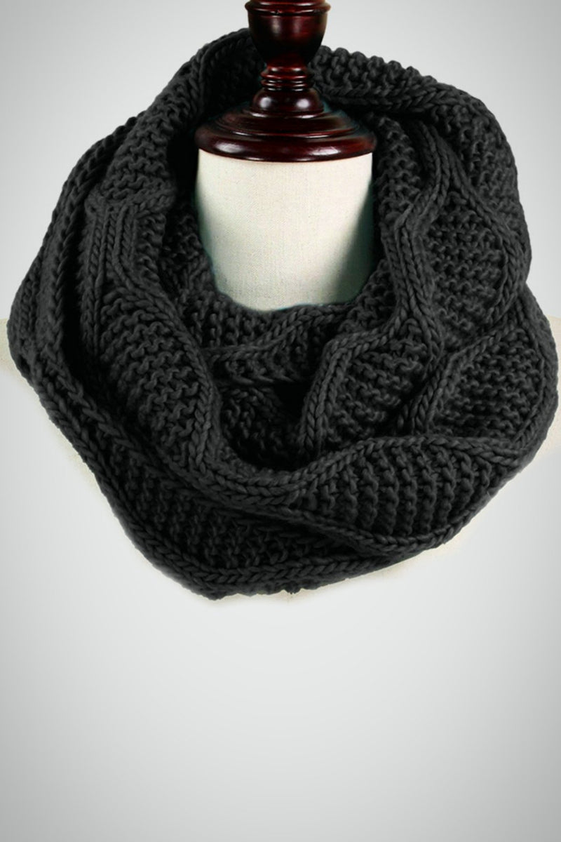 Wave Infinity Scarf