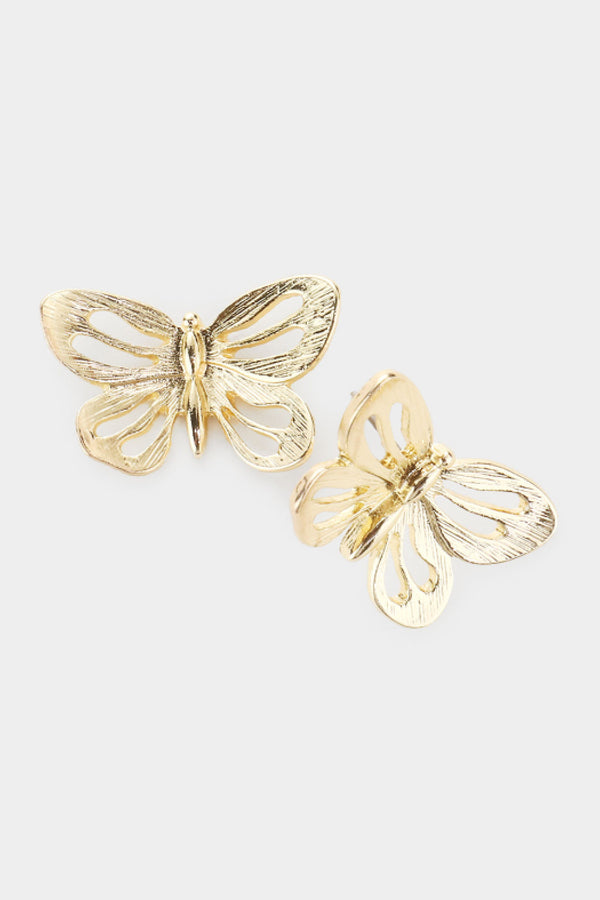 Butterfly Cut-Out Earrings