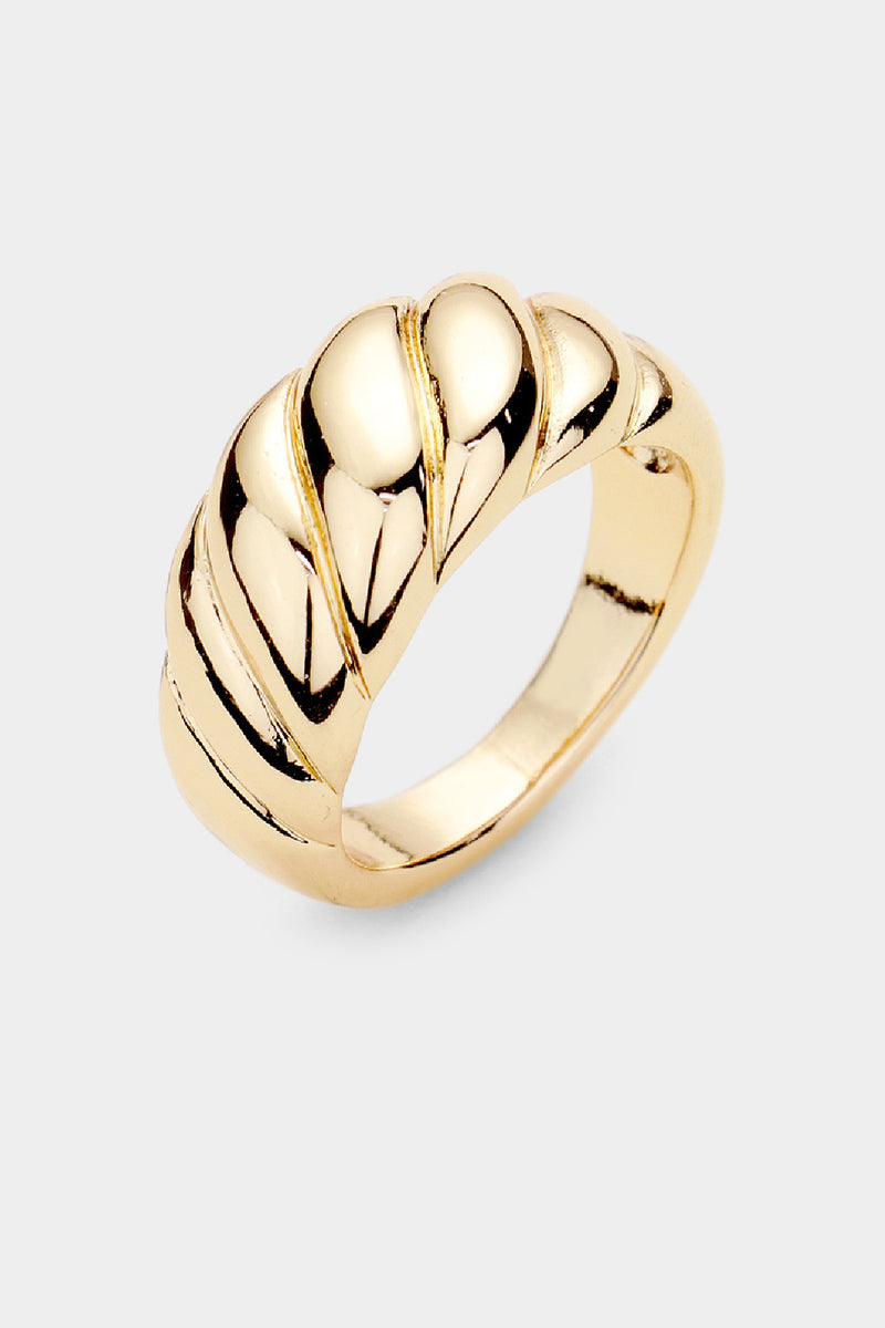 Twist Dome Ring - Embellish Your Life