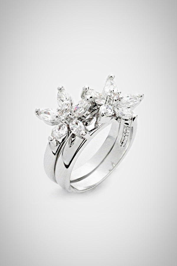 Double Daisy Ring - Embellish Your Life
