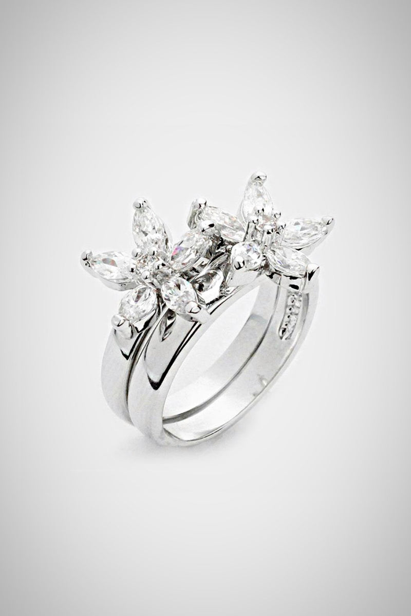 Double Daisy Ring