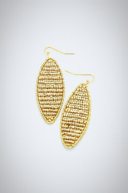 It's A Wrap Gold Earrings