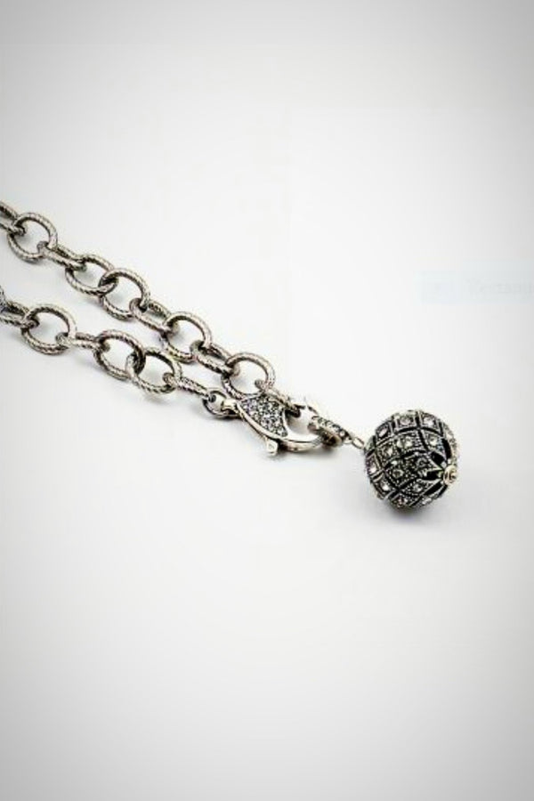 Antique Ball Necklace