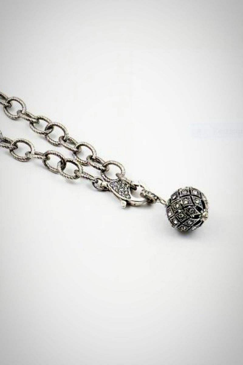 Antique Ball Necklace - Embellish Your Life