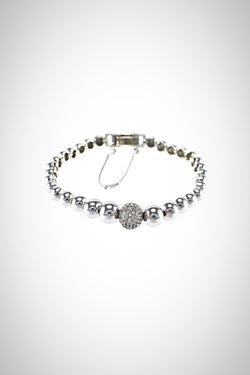 Pave Ball Bracelet - Embellish Your Life
