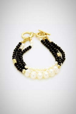Oreo Cookie Beaded Bracelet - Embellish Your Life