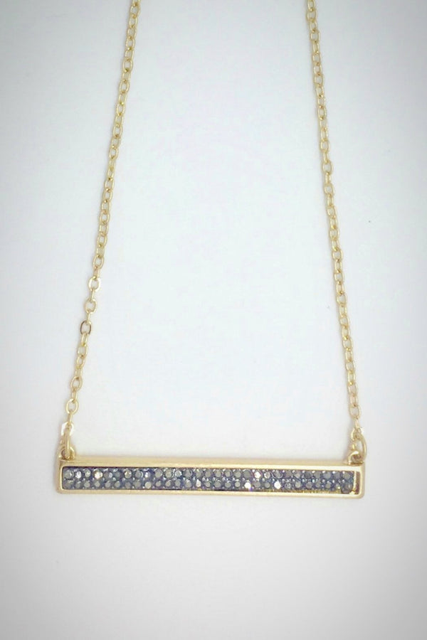 Sparkle Bar Necklace - Embellish Your Life