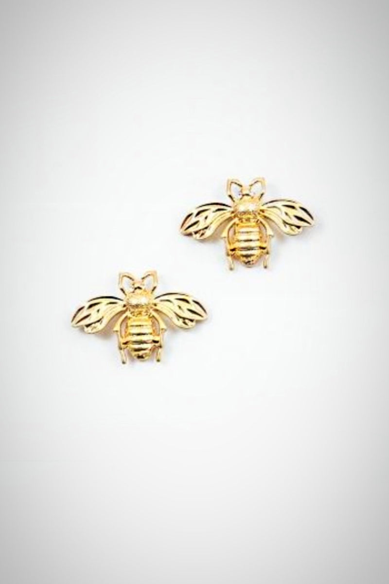 Bee Mine Only Earrings - Embellish Your Life