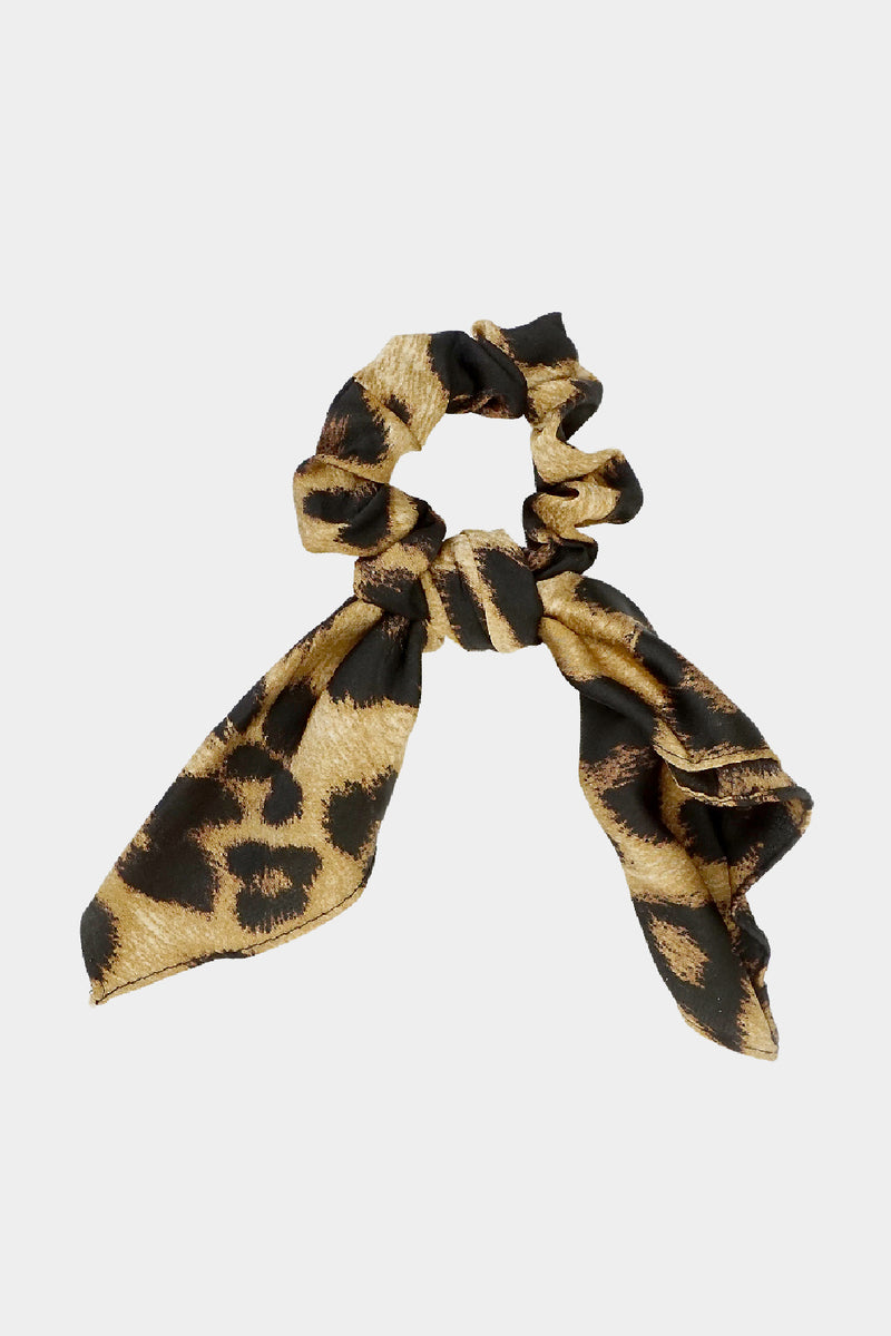 Leopard Hair Scrunchie - Embellish Your Life