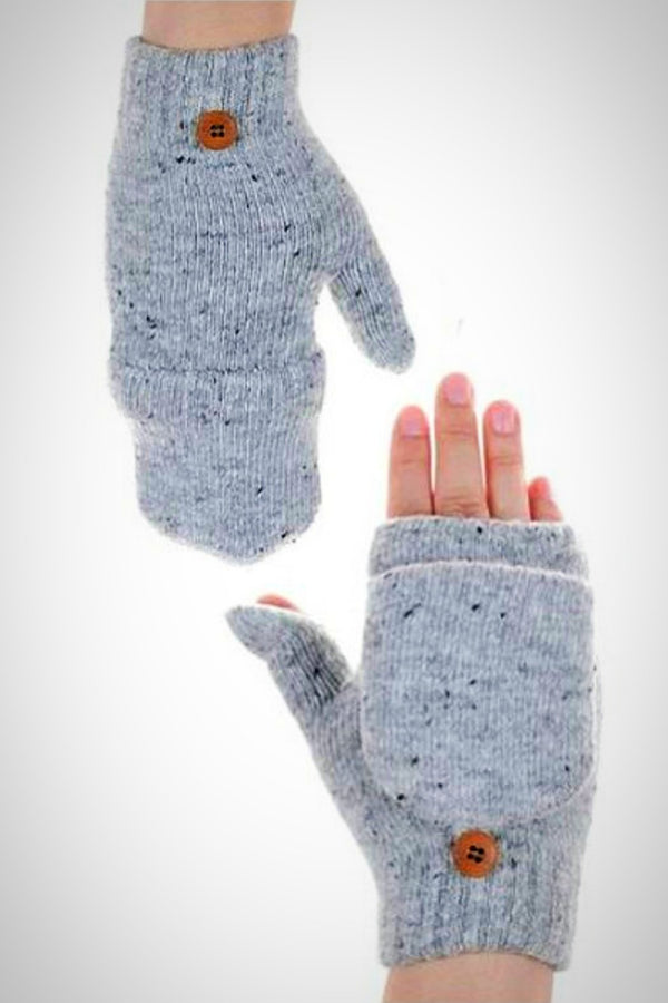 Softest Fingerless Mittens