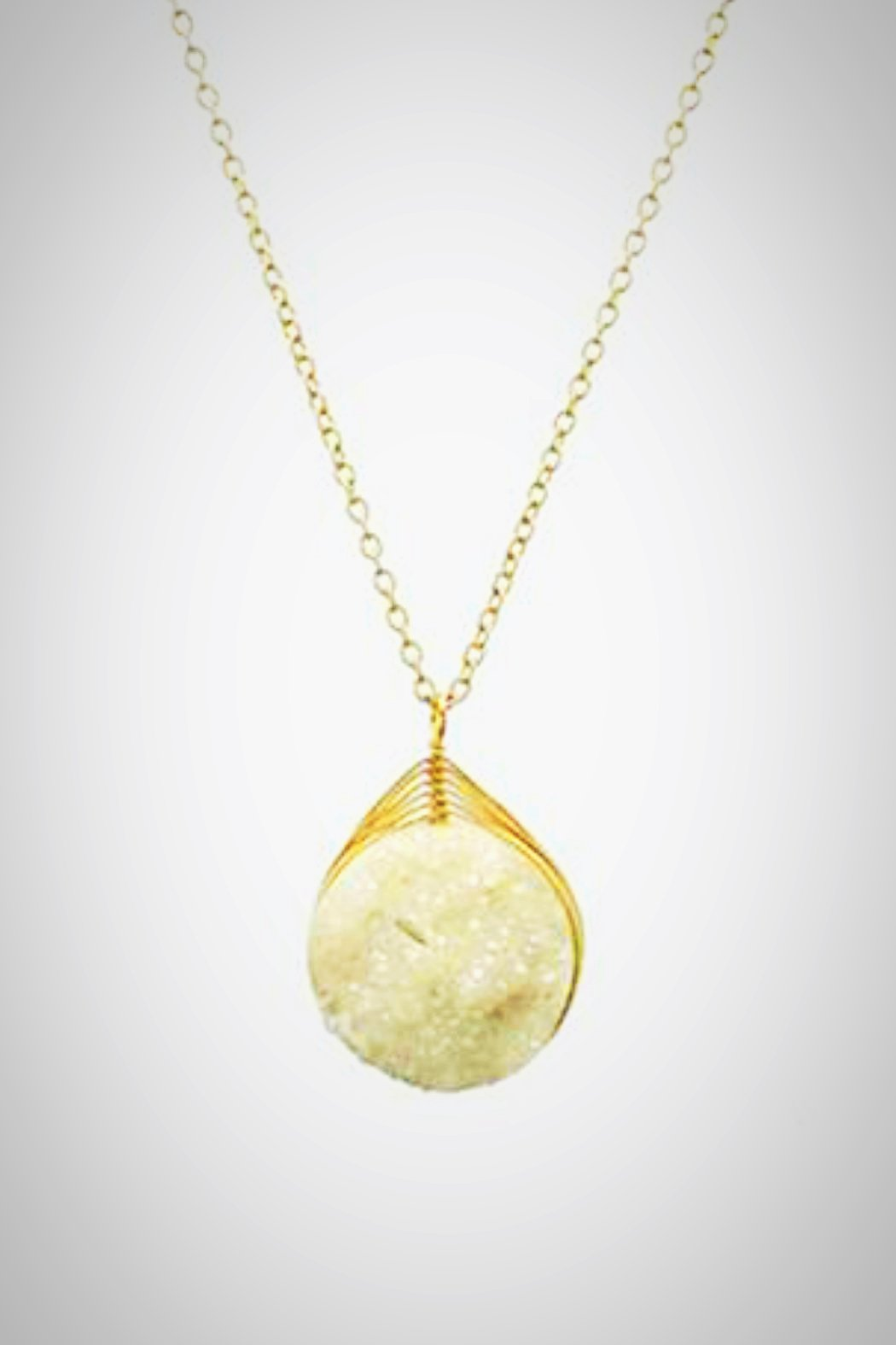 Druzy Ivory Necklace