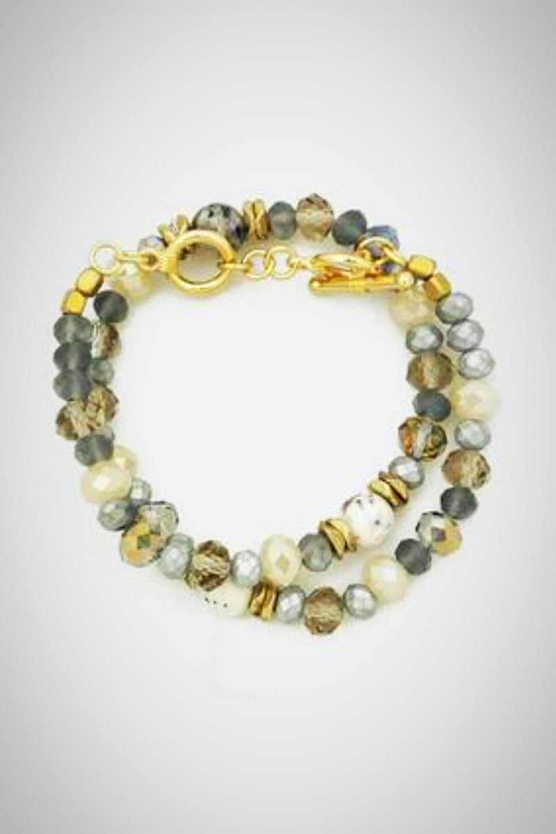 Faceted Sparkle Bracelet - Embellish Your Life