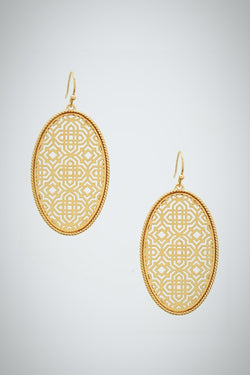 Filigree Fret Earrings