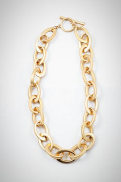 Golden Links Necklace