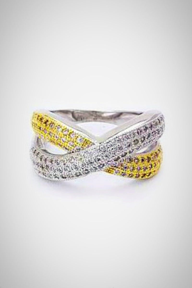 Criss Cross Ring - Embellish Your Life