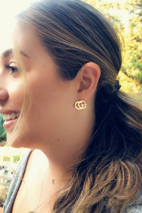 Inspired Cut-Out Earrings