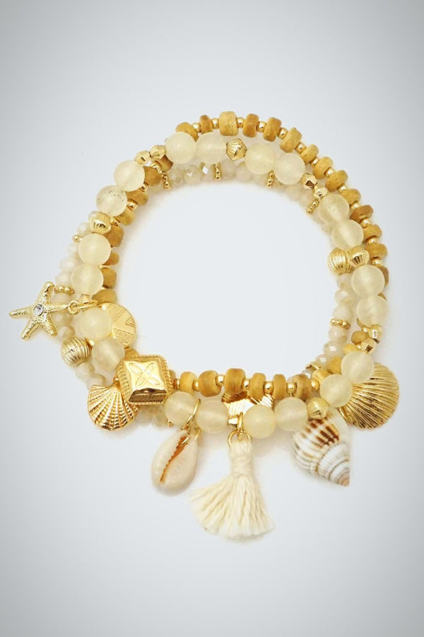 Shell Stretch Bracelet - Embellish Your Life