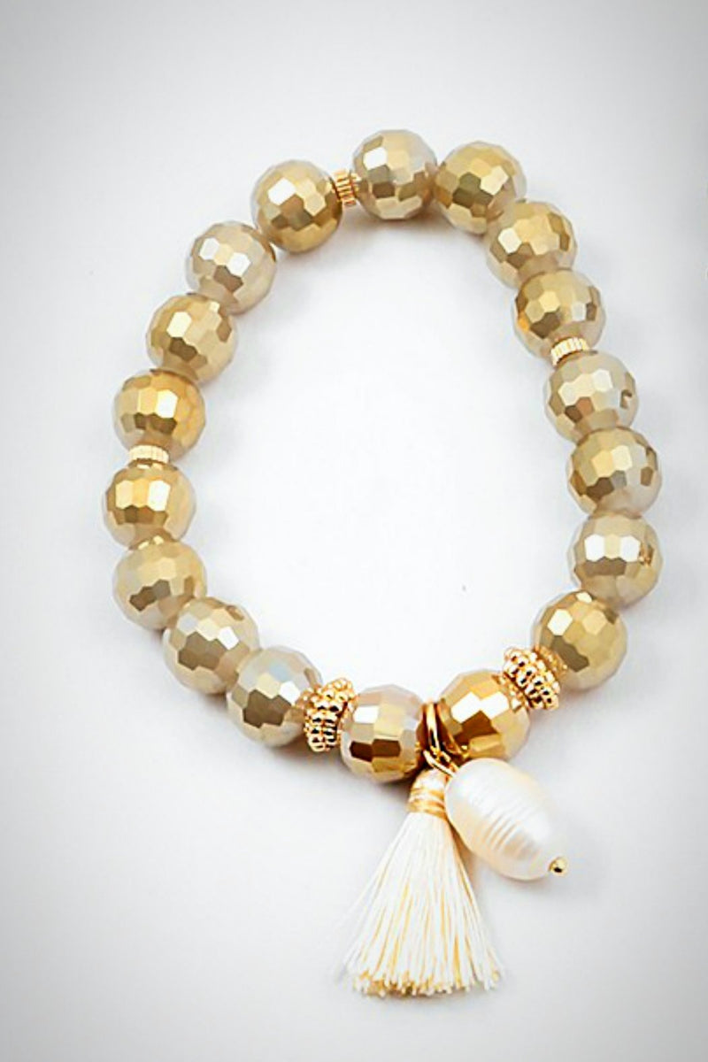 Golden Pearl Bracelet - Embellish Your Life