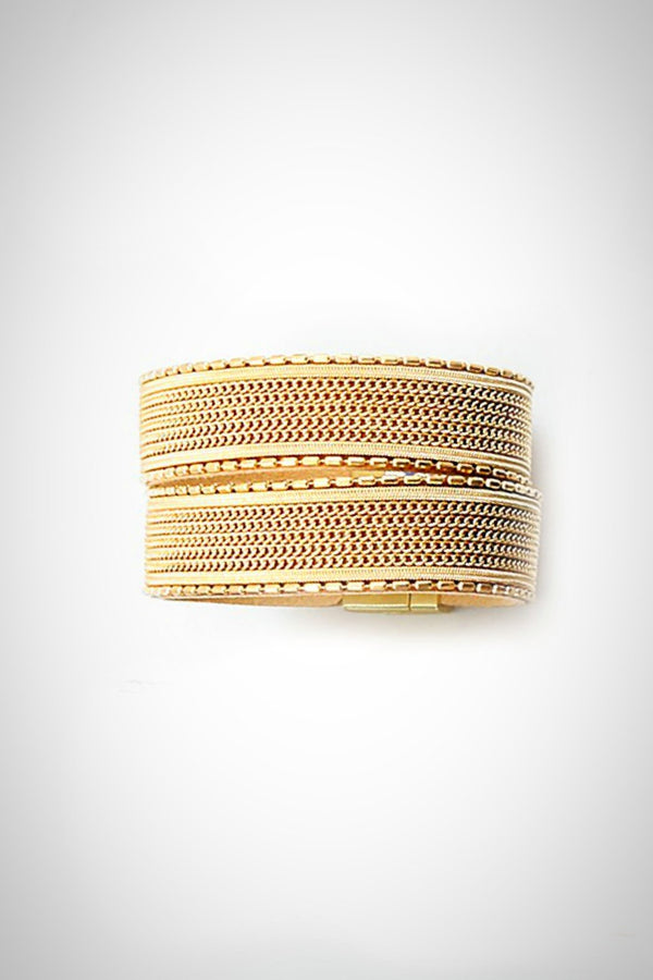 Split In Two Bracelet - Embellish Your Life