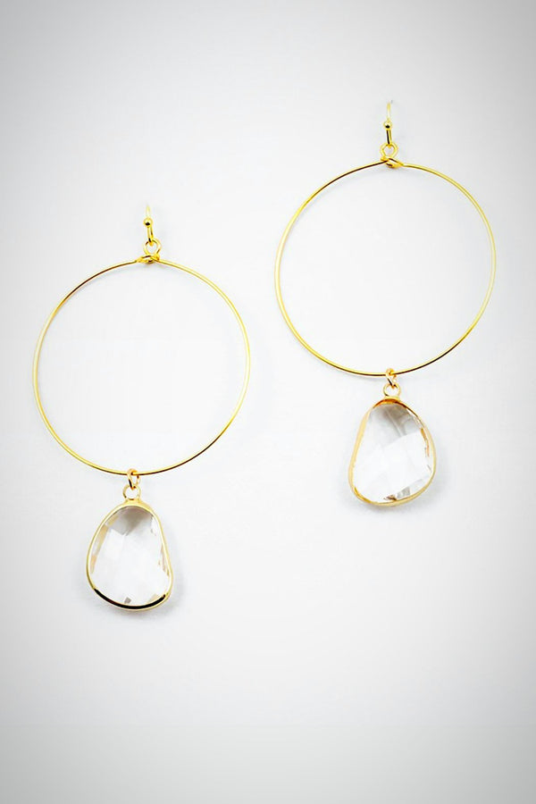 Lucite Drip Earrings