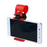 Universal Car Holder Steering Wheel Bike Clip Mount Rubber Band Holder For all Smartphones
