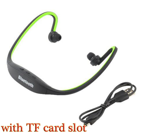 Sport Bluetooth Earphone S9 Plus SD Card Slot Auriculares Bluetooth Headphones Microphone For All Smartphones