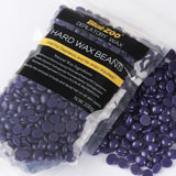 Purple Lavender Removal Cream Color No Strip Depilatory Hot Film Hard Wax Pellet Waxing Bikini Hair Removal Bean P2 100g